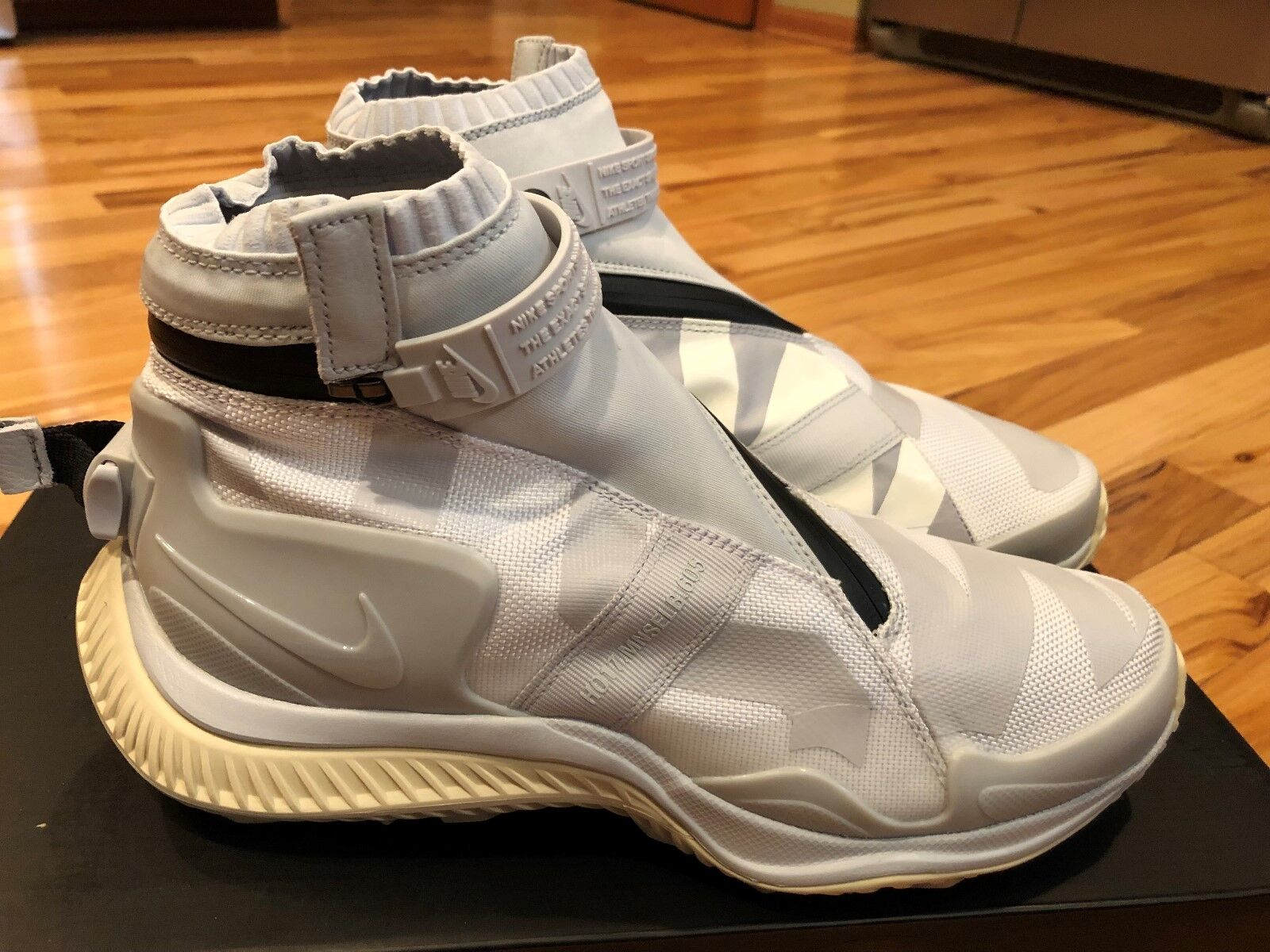 Nike Nikelab NSW Gaiter Boot White Pure Platinum AA0530 100 Men's Size 7