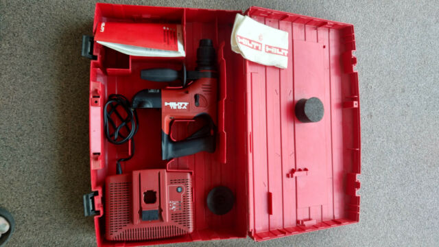 Hilti TE 6-A 36v Cordless Rotary Hammer Drill w/Charger and case