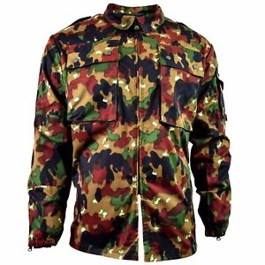 d6cf359f5b852 Image is loading Swiss-army-jacket-M83-combat-field-Alpenflage-Camo-