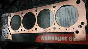"""SCE GASKETS P13323 Pro Copper Head Gaskets 4.320/"""" x .032/"""" For Mark IV BBC"""