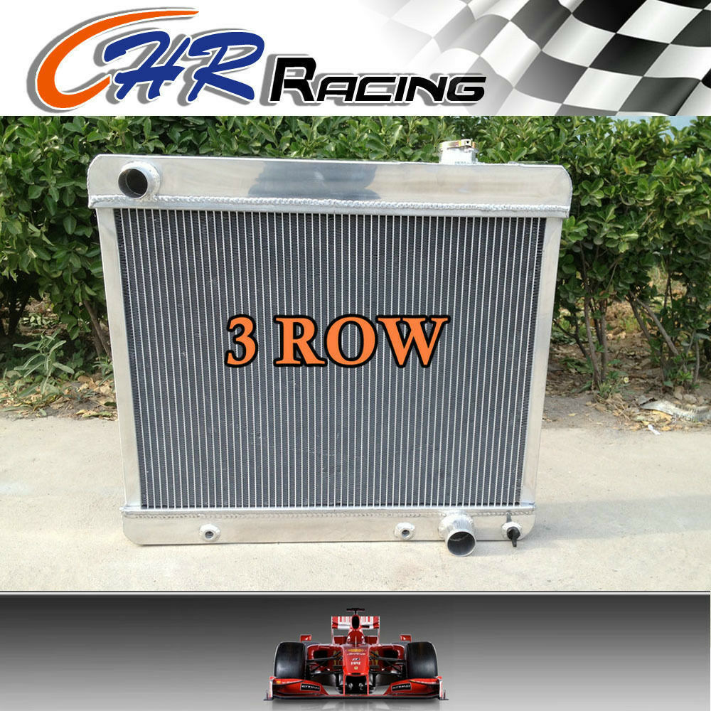 3 Row Aluminum Radiator for 1963-1966 Chevy Pickup Truck Chevrolet C10 C20 C30