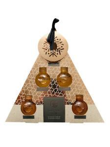 Caffe-Co-Sciroppo-Piramide-Set-Di-4-60ml-Aromatizzato-Bottiglie-Sciroppi-Topper