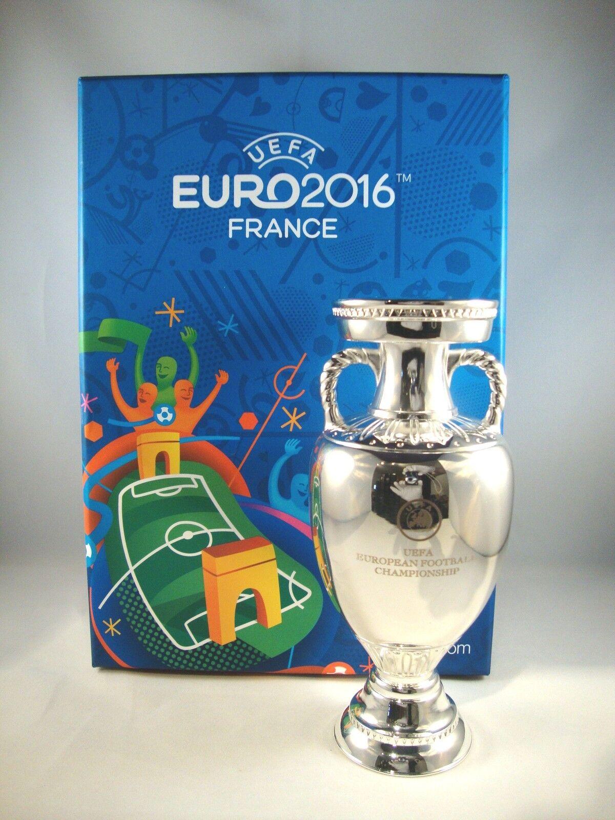 EM-Pokal EM-Pokal EM-Pokal 150mm freistehend UEFA Euro 2016 tm Cup France Vencedor Portugal troféu 2d76b1