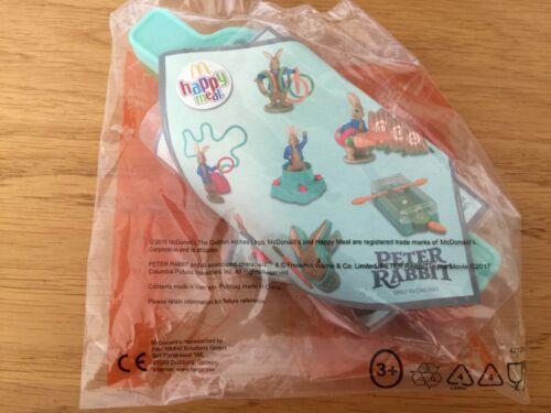 McDonalds Happy Meal 2018 Peter Rabbit Grab a Marble Ball Toy BNIB
