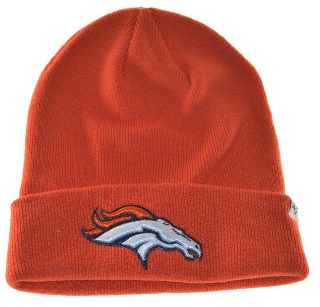 NFL Denver Broncos Broncos Denver Bonnet Tricot Hat-47 Brand-Orange a96004