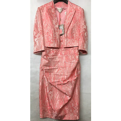 John Charles Salmon 2 Piece Mother of the Bride Suit. Various Sizes. RRP £829.