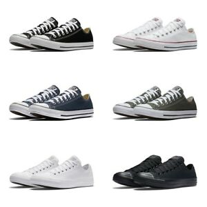 589e112d7260 New Converse Chuck Taylor All Star Low Top Sneakers Original Canvas ...