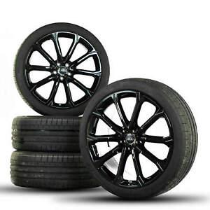 Audi-21-in-jantes-rsq3-RS-f3-JANTES-ALU-Pneus-d-039-Ete-Ete-Roues-NEUF