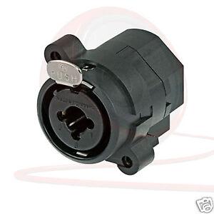 Neutrik-NCJ6FI-S-Combo-Socket-Female-XLR-1-4-034-TRS-Stereo-Jack-Chassis-Panel