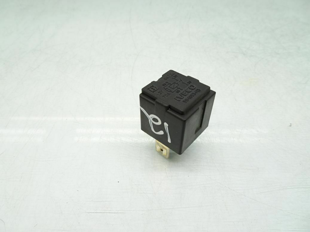 716-Iveco Daily 4-Pin Multi-Use Black Relay 504053413 70A 692.20 12V 97-14