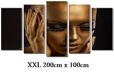 DEKOART XXL BILDER WANDBILD FITNESS LEINWAND BILD 200cm//100cm