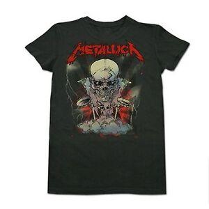 Ladies-METALLICA-Boris-Pushead-Girlie-TOUR-T-Shirt-Girls-Concert-Shirt-XL