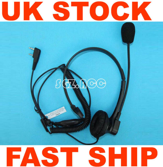 Over Head Earpiece/Headset For Kenwood Radio TH-D7 TH-D7A TH-D7AG TH-D7E TH-F6