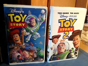 2 Disney Classic Toy Story And Toystory 2 Vhs Ebay