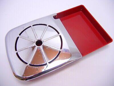 Keurig K10//B31 Drip Tray Dark Red//Silver Plastic 2 Part Unit w//Water Level Guide