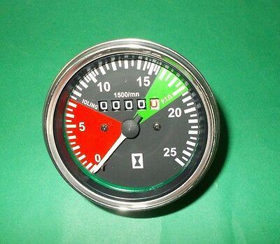 1877718M92 Massey Ferguson MF Tachometer Tractormeter 230,231,240,550