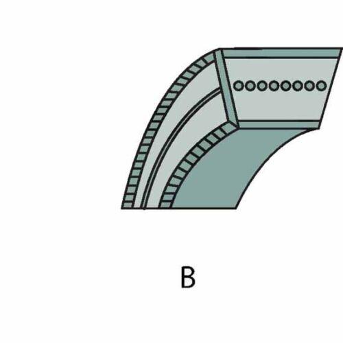fahrantr. e125 15,8 x 1270 variator-engranajes e130 Gutbrod correas trapezoidales e//130