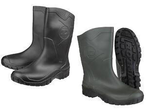 Dee Dunlop Boots Wellies Uk 12 Short Wide Wellington lunghezza Unisex Mollet Mezza 4 qdUxg1q0w5