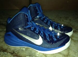 NIKE Hyperdunk 2014 Navy Blue Photo Blue Basketball Shoes Sneakers ... fa3208547c