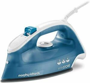 Morphy-Richards-Breeze-300283-Easy-Store-Steam-Iron-2400W-Blue-White-A