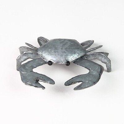 Colin the Crab Decorative Ornament in Silver Tin by Shoeless Joe *Nautical Decor
