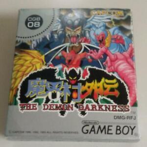 Makai-Mura Gaiden: The Demon Darkness | Capcom Gameboy GB Soft from JP