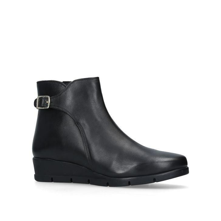 Nuevo Y En Caja Cochevela comodidad Kurt Geiger Negro Rebecca botas Zapatos Talla 3 36 £119