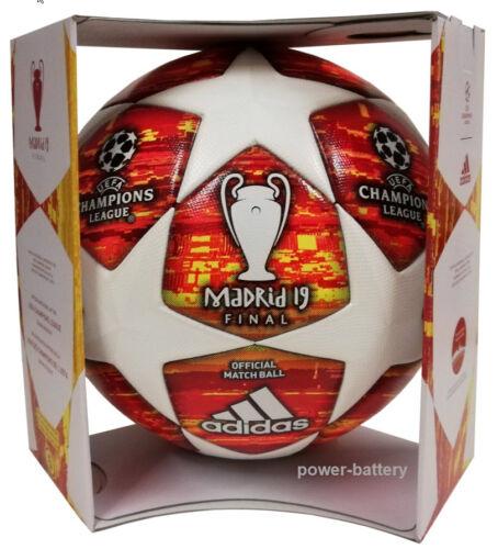 Box NEU Adidas Finale Madrid 19 Profi Matchball 2018/2019 UEFA Spielball DN8685 Fußball