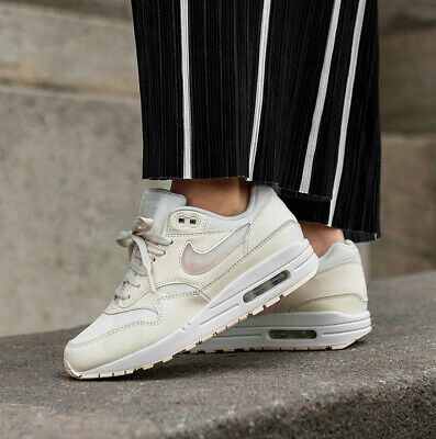 Nike WMNS Air Max 1 Women Lifestyle Jelly Sneakers Pale Ivory AT5248-100