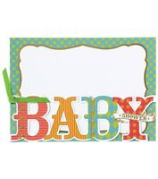 Anna Griffin Baby Shower Diecut Custom Invitation 10ct -new