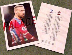 Crystal-Palace-v-Southampton-Saints-Matchday-Programme-21-1-20