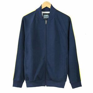 Blue Beautiful Giant Men/'s Full Zip Raglan Sports Active Track Jacket Black