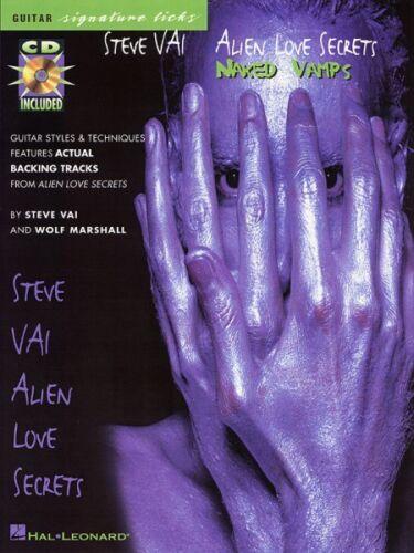 Naked Vamps Sheet Music Signature Licks  000695223 Steve Vai Alien Love Secrets