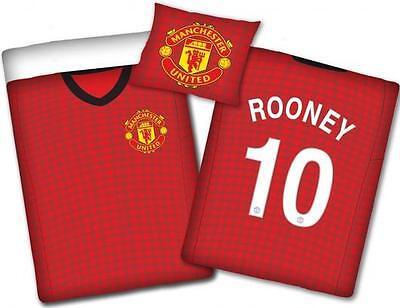 Möbel & Wohnen Original Manchester United Bettwäsche 140x200 Neu Ökotexbaumwolle Rooney Trikot Fabriken Und Minen
