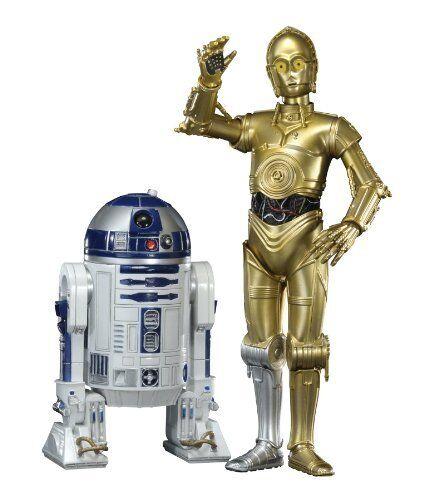 Kotobukiya ARTFX + R2-D2 y C-3PO (escala 1 10 Figura de PVC ARTFX + Guerra De Las Galaxias) [Japón]