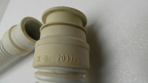 2033751 circa 1,60 m di lunghezza N ORIGINALE Miele Lavatrice Tubo scadenza T