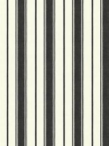 Wallpaper-Designer-Country-Black-Stripe-on-Eggshell-White