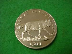 Bien Informé 1994 Bosnie H Preuve Comme 500 Dinara Préserver La Planète Terre Loup Gris Bu-afficher Le Titre D'origine Prix De Vente