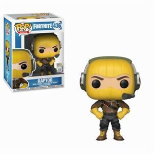 Fortnite Battle Royale Raptor Tenue Pop! Games #436 Vinyl Figurine Funko-afficher Le Titre D'origine Avec Des MéThodes Traditionnelles