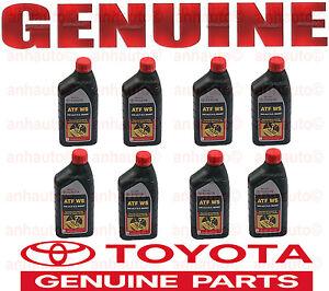 8 Quart Genuine Toyota Atf Ws Automatic Transmission Oil