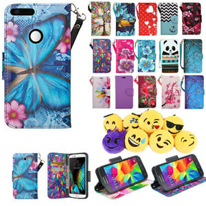 the latest 6ae3d 42909 Details about For ZTE Blade Force / ZTE Warp 8 Wallet Pouch Case Phone  Protector Cover Folio