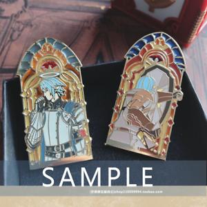Final Fantasy XIV FF14 Haurchefant Greystone Metal Badge Brooch Pin Gift Limit N