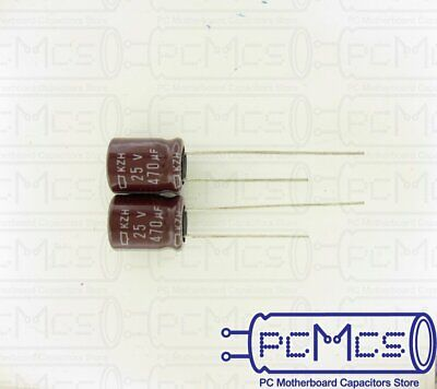 8 Pcs Nippon ChemiCon NCC KME Series 250V 10UF Made in Japan Capacitor 10x20