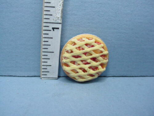 Miniature Apple Pie Lattice Crust #K2115A  Bright Delights 1//12th