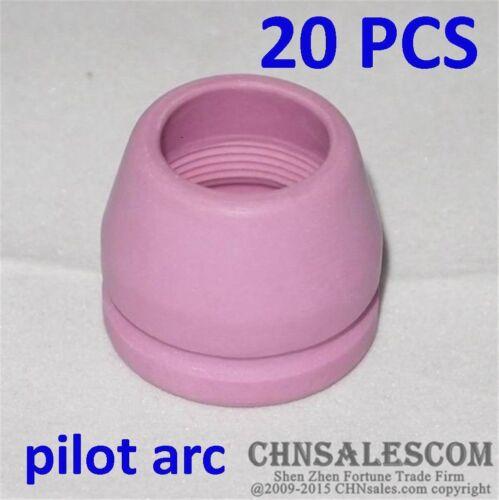 20 PCS SG-55 AG-60 High Frequency AIR Plasma Cutter Pilot Arc Torch SHIELD CUP