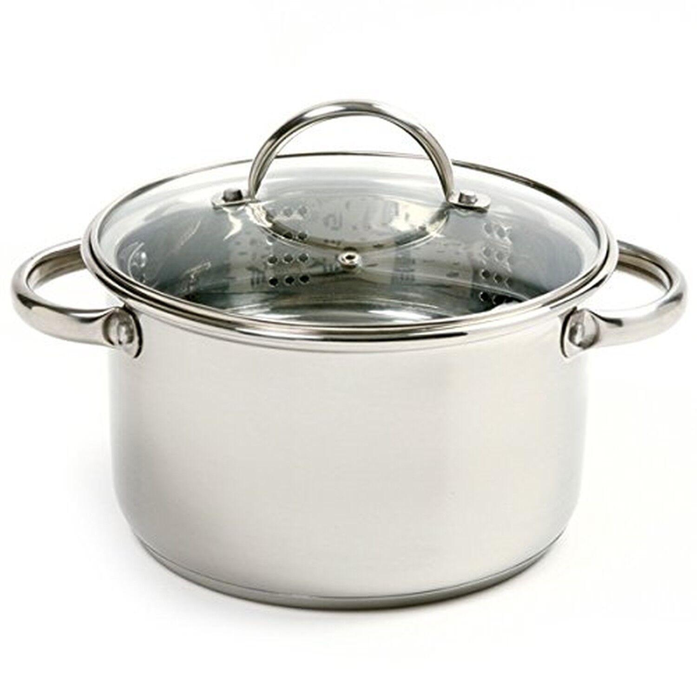3 piece mini pot pan stainless steel