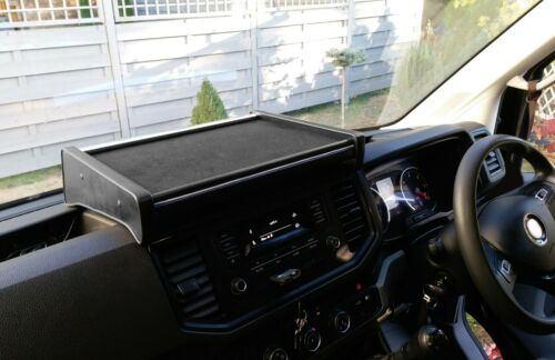 Table MAN TGE VW Volkswagen Crafter from 2018 Velour Black Grau
