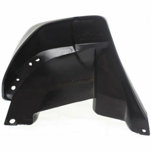 For CR-V 97-01 Rear Plastic Passenger Side Mud Flap Black