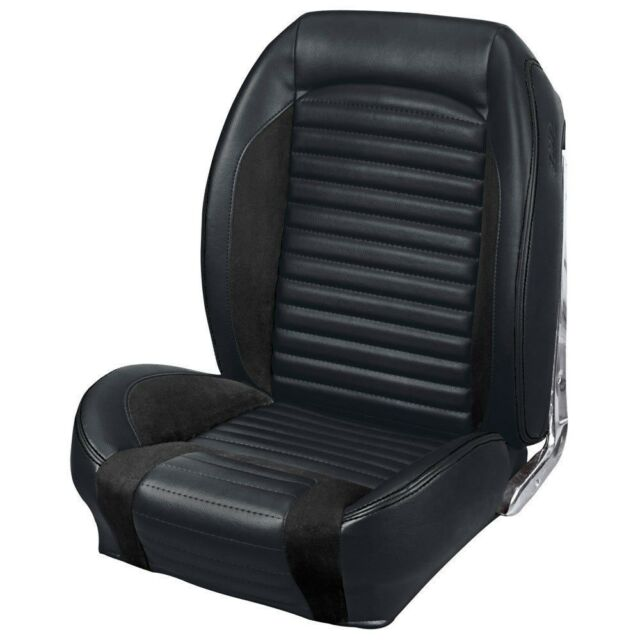 1967 Mustang Coupe Seat Upholstery Sport R Black Gray ...