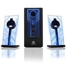 PC Computer Laptop Gaming Speaker System Sound Subwoofer Audio Desktop LED